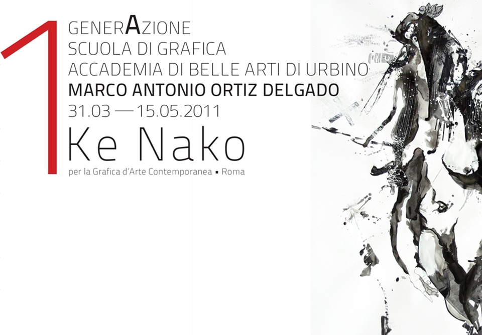 Ke Nako 1a generAzione Marco Antonio Ortiz Delgado